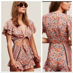 Free People Surf Date Romper